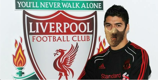 Luis Suarez Face Mask Hannibal